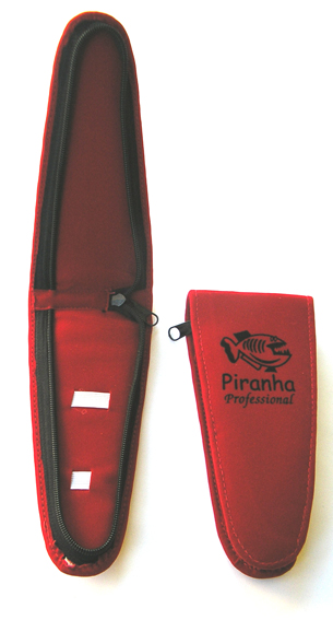 Piranha Scissor Case Red (Triangular)