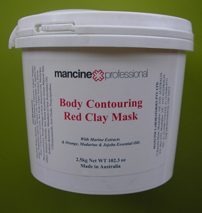 Mancine Body Contouring Red Clay Mask 2.5Kg