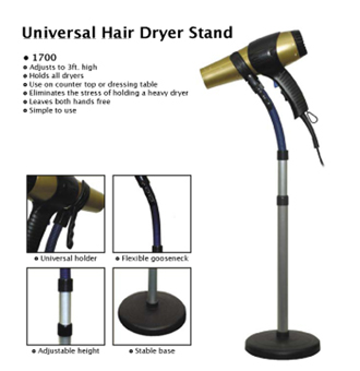 Luxor Universal Hair Dryer Stand