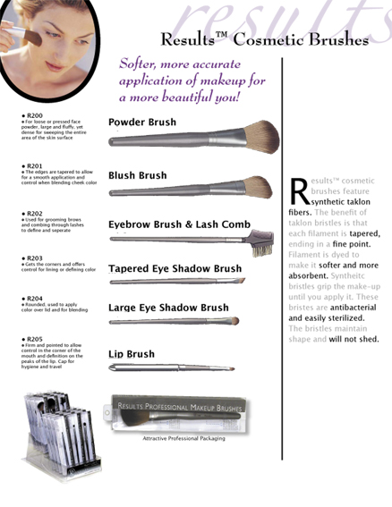 R200-Results Powder Brush