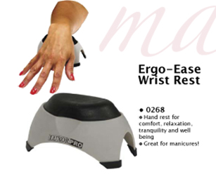 Luxor Pro Ergo Ease Wrist Rest-Ideal for Manicures