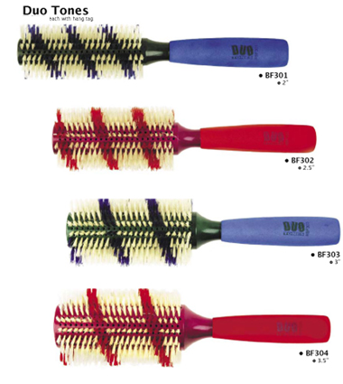 "BF304- Duo Tones Brush-3.5"" Dia"