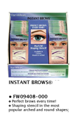 Instant Brows-Eyebrow Shaping Stencils (Arched & Round Shapes)