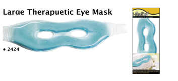 2424-Large therapeutic Gel Eye Mask-Hot or Cold Applications