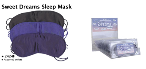 Sweet Dreams Sleep Mask in assorted colours