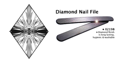 Luxor-Diamond Nail File-Washable, Long Lasting