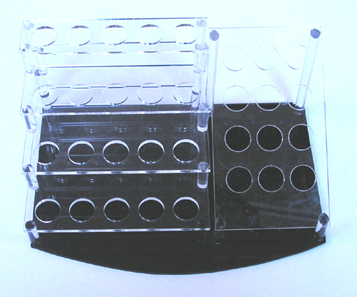 Acrylic Cosmetic/Brush Display Stand #1-32 holes
