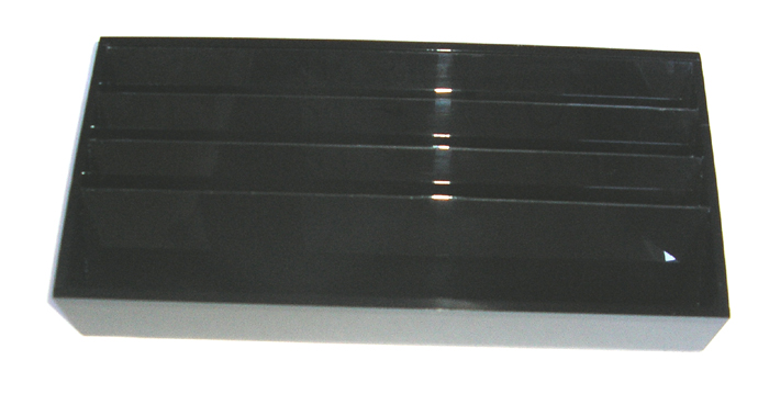 Acrylic Display Stand #5-as shown-slanted compartments