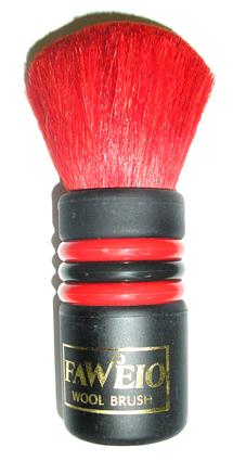 Faweio Wool Neck Brush-Red