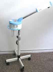 Facial Steamer/Vaporizer-Blue/White-Round Body