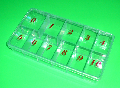 Nirvana Collection-empty Nail Tip Box-500 count
