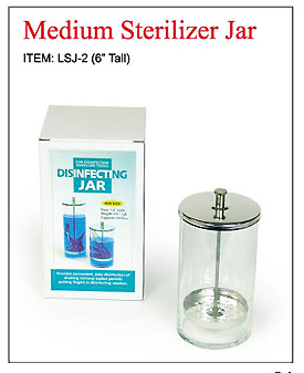 LSJ-2 (6' Tall) UFO Sterilizer Jar-500cc