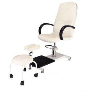 Pedicure Combo-Includes Pedicure Chair, Foot Rest and Aesthetician Stool