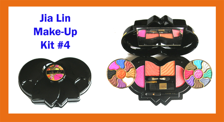 Jia Lin Professional Make-Up Kit 4-27 Pcs in Foldable Compact Hard Case