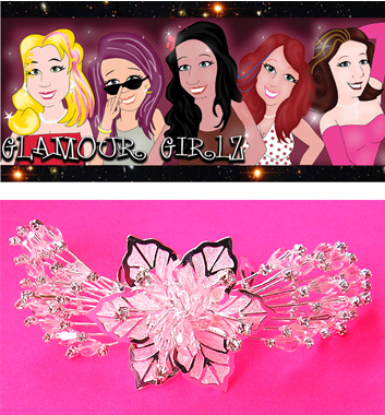 Glamour Girlz Hair Aceessories-UPJ42