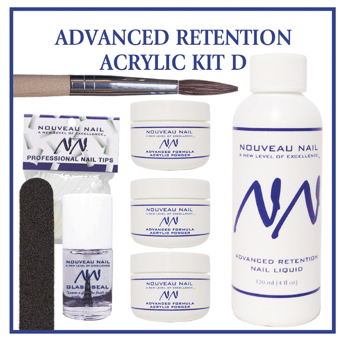 Nouveau Nail Kit D - Advanced Retention Acrylic
