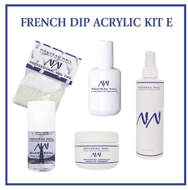 Nouveau Nail Kit E - French Dip Acrylic