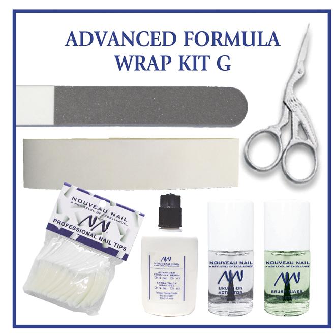 Nouveau Nail Kit G - Advanced Formula Wrap