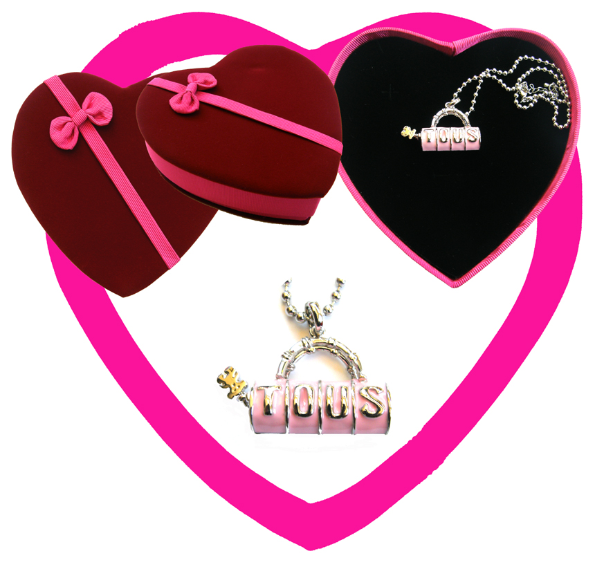 Valentines Premium Boxed Jewellery (Necklace & Pendant) Gift Set-Design D
