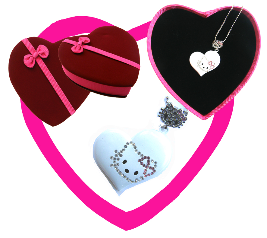 Valentines Premium Boxed Jewellery Gift Set-Design F