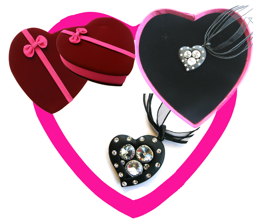 Valentines Premium Boxed Jewellery Gift Set-Design G