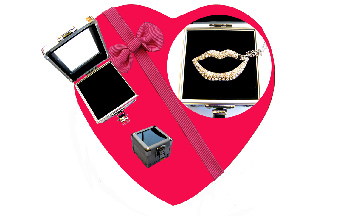 Valentines Premium Boxed Jewellery (Necklace & Pendant) Gift Set-Design K