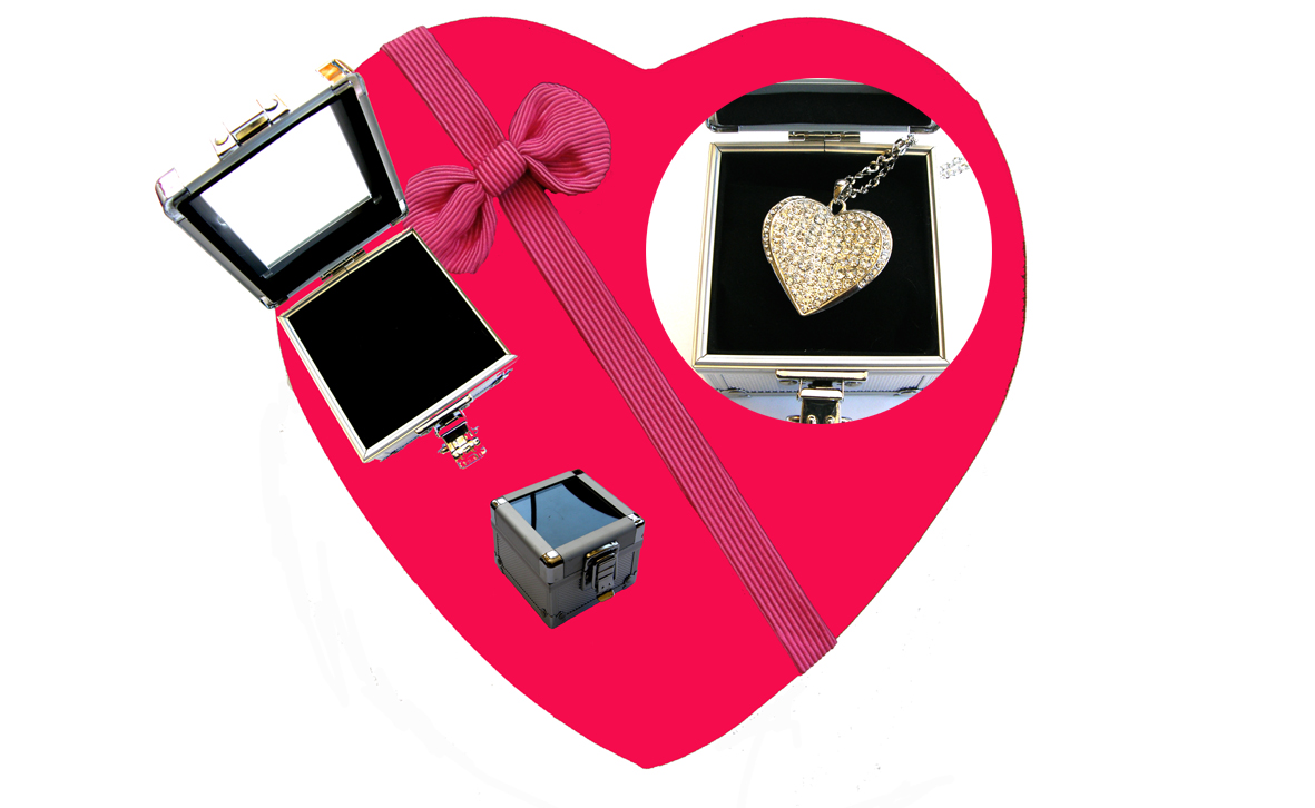 Valentines Premium Boxed Jewellery (Necklace & Pendant) Gift Set-Design J