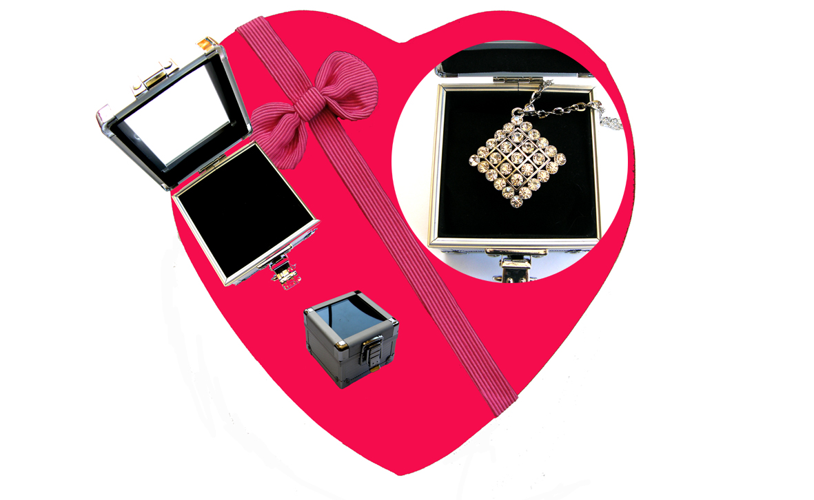 Valentines Premium Boxed Jewellery (Necklace & Pendant) Gift Set-Design L