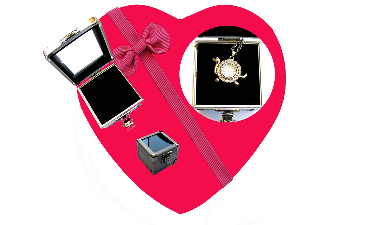 Valentines Premium Boxed Jewellery (Necklace & Pendant) Gift Set-Design M
