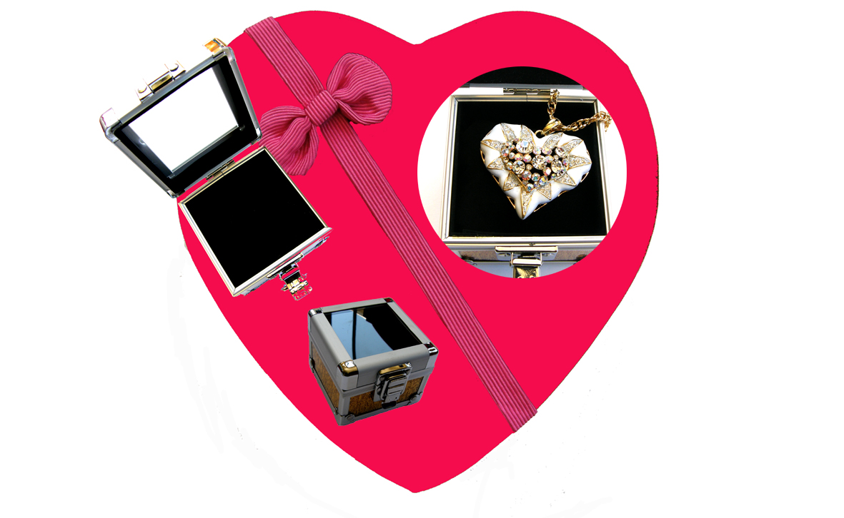 Valentines Premium Boxed Jewellery (Necklace & Pendant) Gift Set-Design N