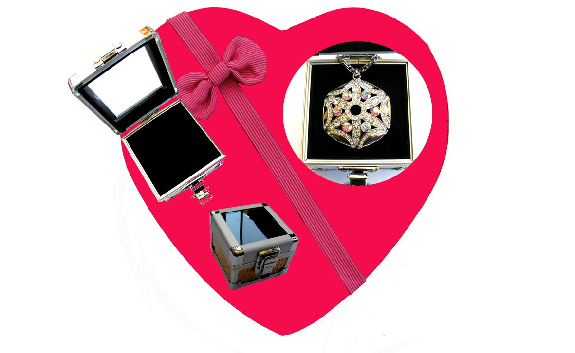 Valentines Premium Boxed Jewellery (Necklace & Pendant) Gift Set-Design O