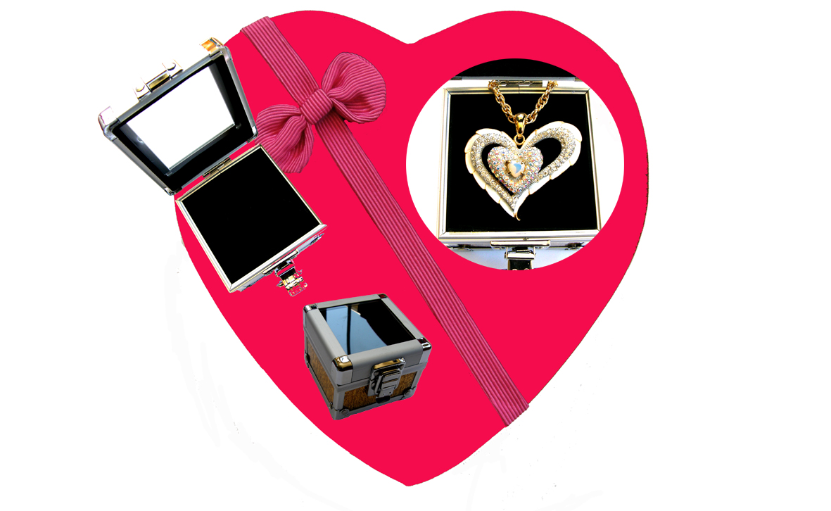 Valentines Premium Boxed Jewellery (Necklace & Pendant) Gift Set-Design P