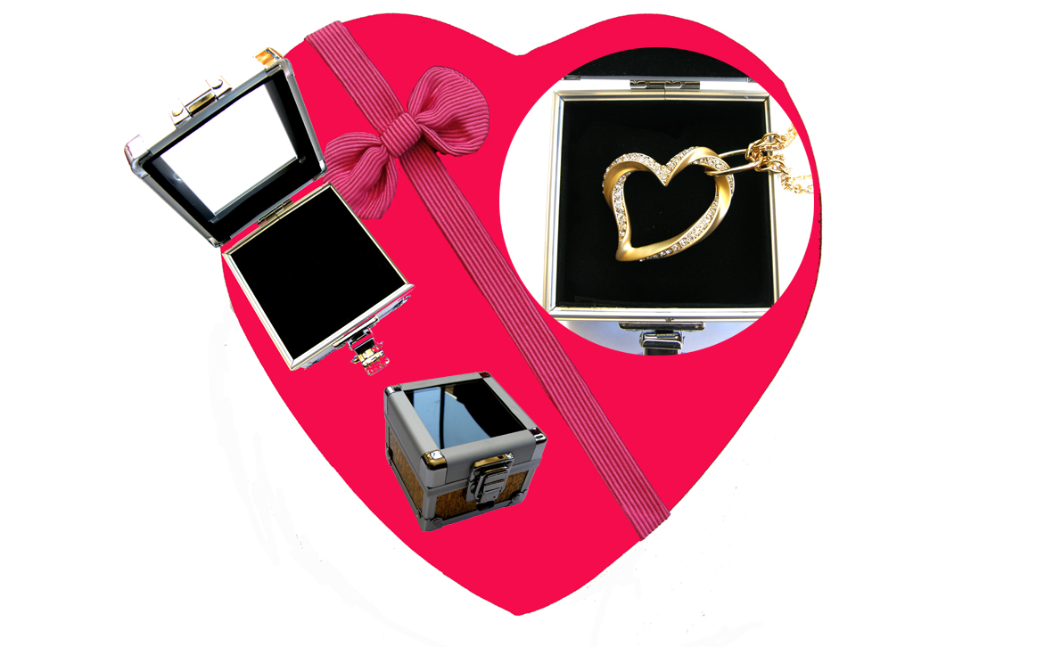Valentines Premium Boxed Jewellery (Necklace & Pendant) Gift Set-Design Q