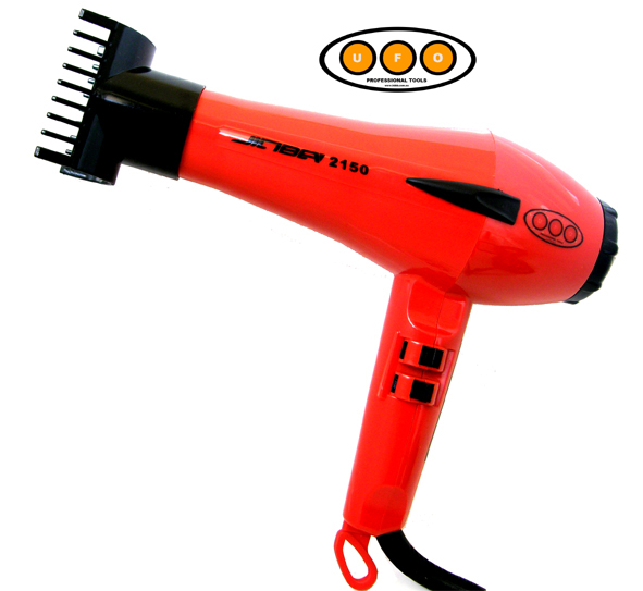 UFO Professional Jinba 2150 Professional Hairdryer-1800 Watts-Orange