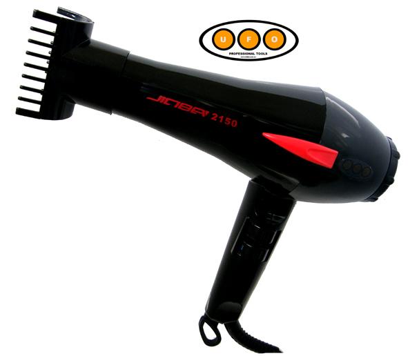 UFO Professional Jinba 2150 Professional Hairdryer 1800 Watts Black