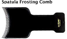 Spatula Frosting Comb