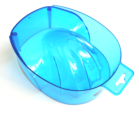 Manicure Bowl-Deep-Translucent Blue