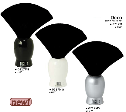 0217MB-Deco Neck Duster-Black Colour