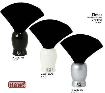 0217MB-Deco Neck Duster-Black Colour