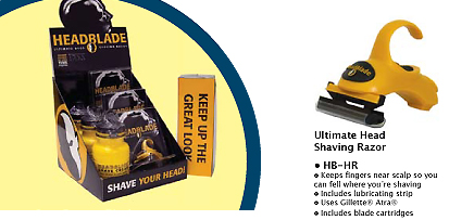 Headblade-Ultimate Head Shaving Razor