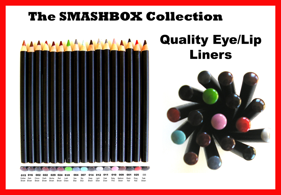 The Smashbox Collection-Professional Eye and Lip Liner #001-Black