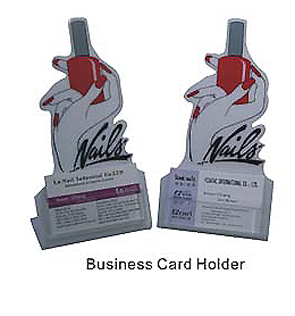 Business Card Holder for Nail Techs