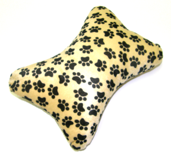 UFO Dog Bone Shaped Foam Rest-Paw Print