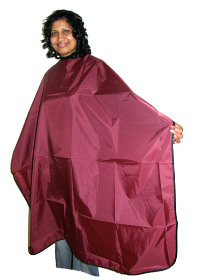 Impresso Water Repellent Cutting Cape-Maroon