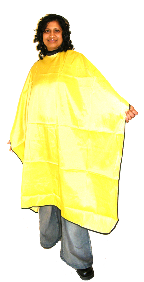 Impresso Water Repellent Cutting Cape-Yellow