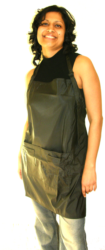 "Impresso ""Soft Touch"" Apron-Black"