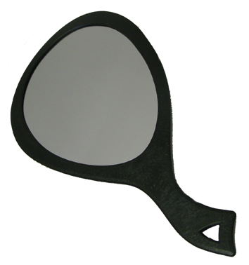 Salon Says-Mega Mirror-Black