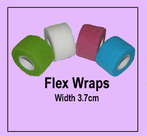 Nirvana Collection Flex Wraps-Width 3.7cm-Blue