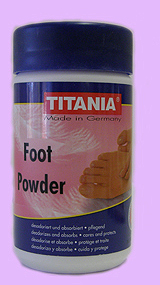 Titania Vital Foot Powder 100g