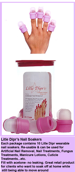 Little Dipp's Nail Soakers-10 per Pack-Price per Pack